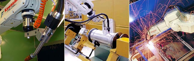 Kawasaki arc welding robot applications