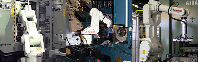 Kawasaki Machine Tending Robots Applications