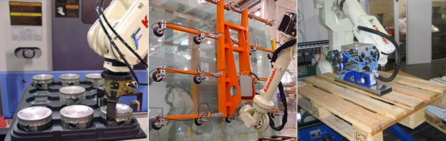 Kawasaki Material Handling Robot Applications