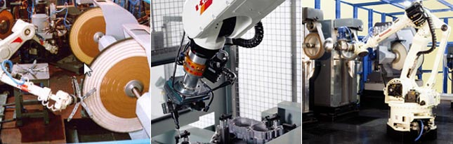 Kawasaki Material Removal Robot Applications