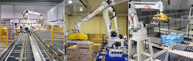 Kawasaki Palletizing Robot Applications
