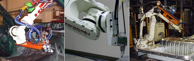 Kawasaki Sealing and Dispensing Robot Applications