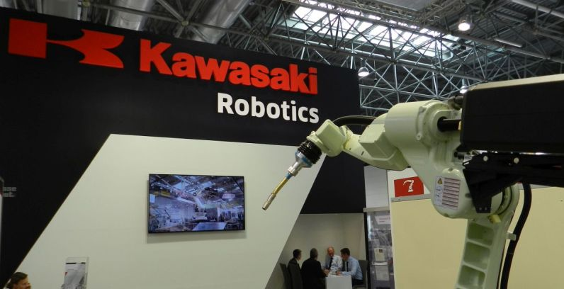 Kawasaki Robotics at the Schweissen & Schneiden