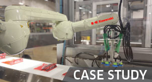 CASE STUDY - Vision-Guided Box Packing Cell