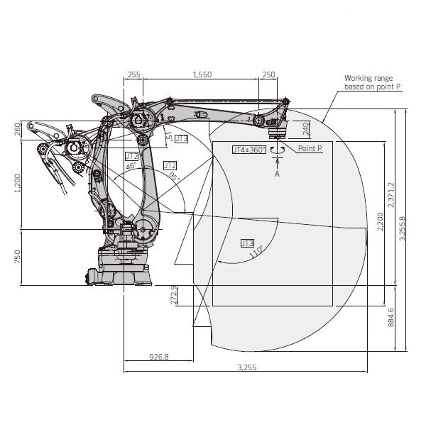 Kawasaki CP700L drawing
